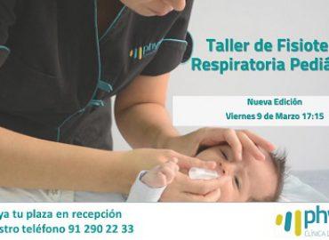 Próximo Taller Fisioterapia Respiratoria Infantil