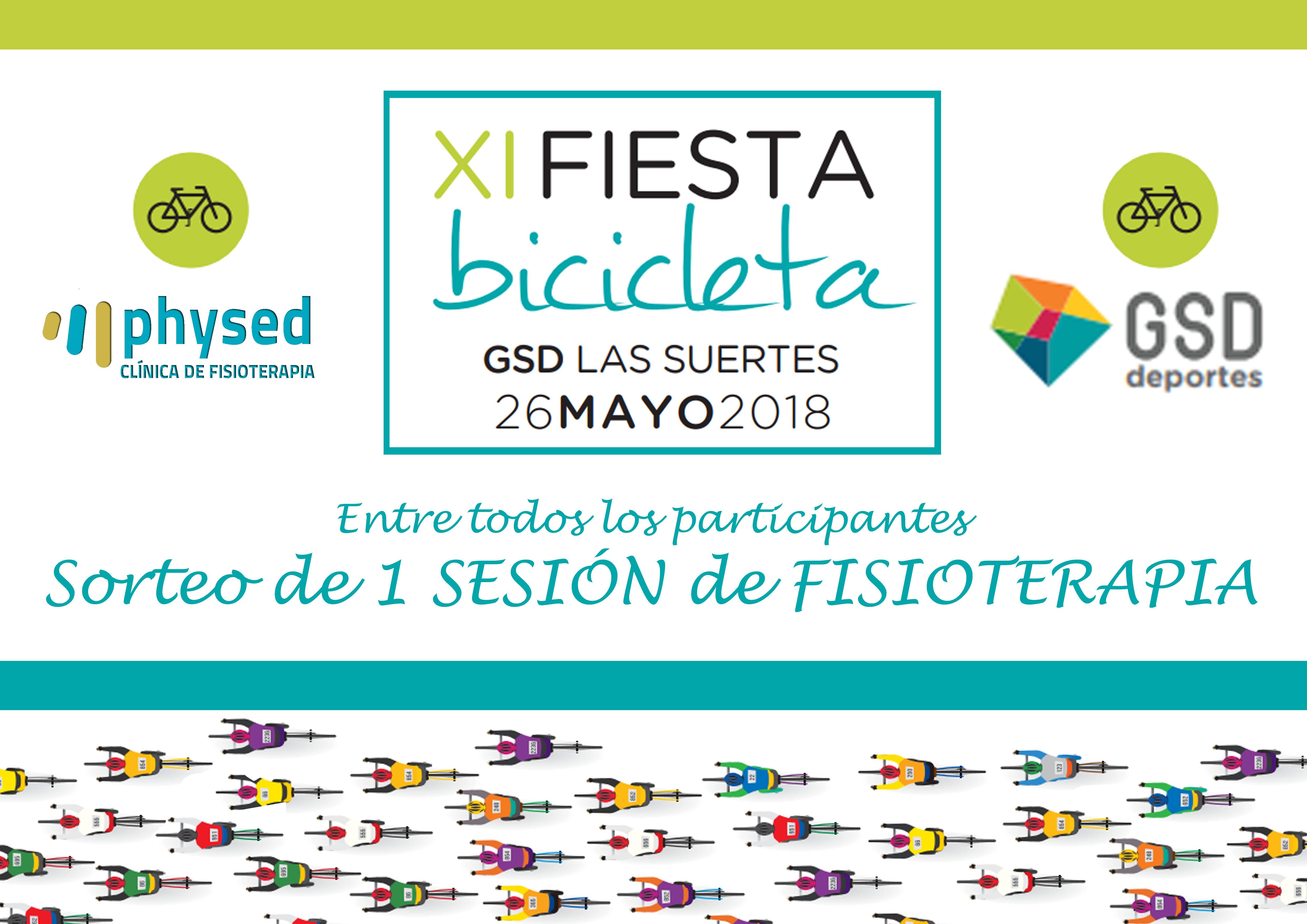 Physed en la «Fiesta de la Bicicleta GSD»