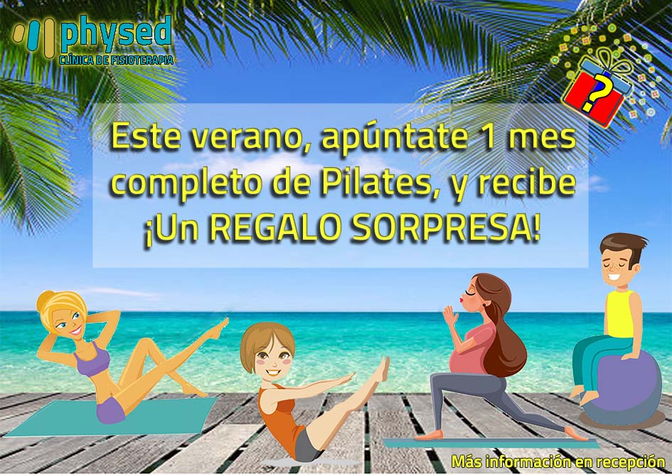 Clases de Pilates, verano 2018 Physed