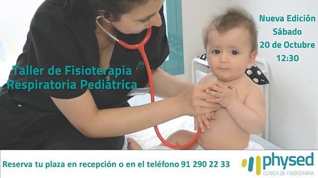 Taller Fisioterapia Respiratoria Infantil